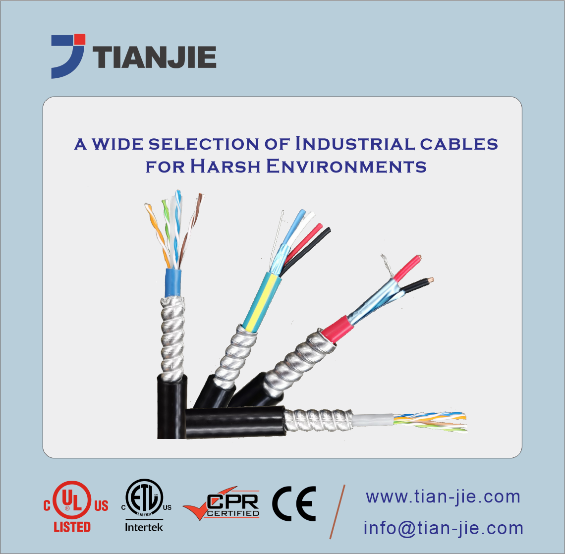 Corrugated Welded Amoured Cable